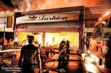 Calculan en 60 millones de pesos pérdidas dejadas por fuego en el Centro Histórico de Santiago